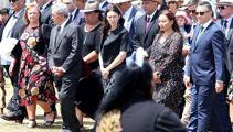 Facebook and holocaust memorial mark beginning of political year