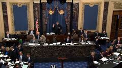 Not even Senators seemed very interested in the trial, writes Mike Yardley. (Photo / CNN)