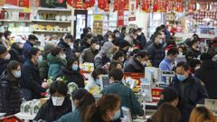 Wuhan is the epicentre of the fast-spreading disease. (Photo / AP)