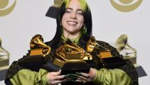 Billie Eilish shatters records at Grammy Awards