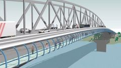 Auckland Harbour Bridge's Skypath walkway is included in today's announcement. (Photo / Supplied)