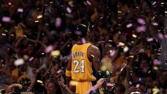 Kobe Bryant celebrating winning the 2010 NBA Championship with the Lakers. (Photo / Getty)