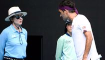 'Clearly she speaks mixed': Federer caught up in on court blow-up