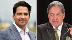 Simon Bridges says Winston Peters cannot be trusted. (Photo / NZ Herald)