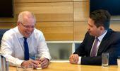 Simon Bridges is seeking to copy Scott Morrison's strategy. (Photo / Supplied)