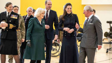 Charles, Camilla, William and Kate attend first joint event in nine years
