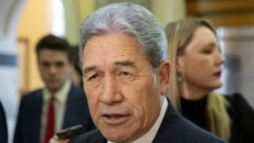 Barry Soper: Winston Peters' Trumpian moment