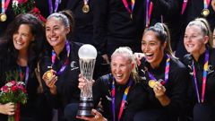 The Silver Ferns took out the Team of the Year and Supreme Award. Photo / Photosport
