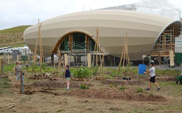 Climate-change focused school opens in Taranaki