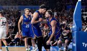 Brisbane produced a stunning win to eliminate the Breakers from playoff contention. Photo / Getty