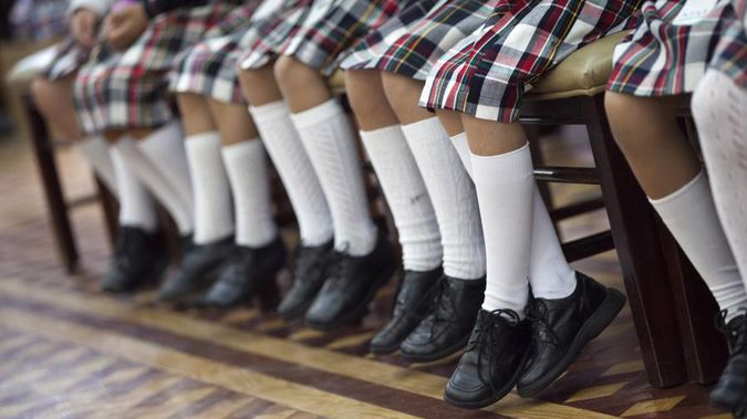 Female students at Invercargills' James Hargest College must speak to a guidance counsellor before they can wear unisex shorts or pants. (Photo / Getty)