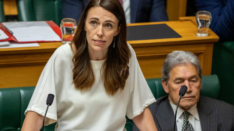 Prime Minister Jacinda Ardern refuses to pull Winston Peters into line over controversial photos