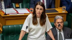 Jacinda Ardern admits there are multiple matters she's responsible for but New Zealand First's internal dispute is not one of them. Photo / Mark Mitchell