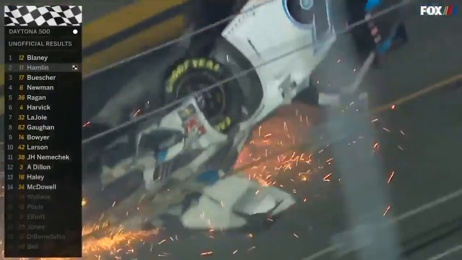 Watch: Horror crash overshadows Daytona 500