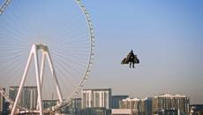 Dubai company shows off high-powered jetpack