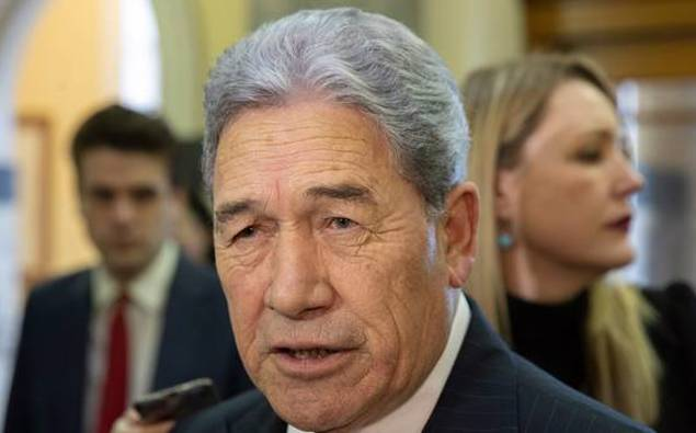 Facing the music - Winston Peters and...