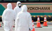 The Diamond Princess has been in quarantine for 14 days in Yokohama. Photo / AP