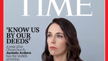 Jacinda Ardern on Time cover marking a year since terror attack