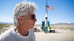 Mike Hughes died in a homemade rocket crash trying to prove the earth was flat. Video / Twitter / Justin Chapman