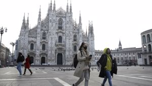 Italy has become a surprising victim of the virus outbreak. (Photo / AP)