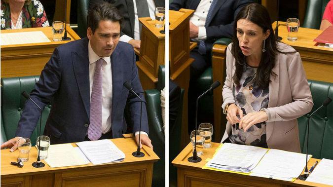 Jacinda Ardern has dismissed Simon Bridges suggestion. (Photo / NZ Herald)