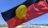 The Aboriginal flag. (Photo / AAP)
