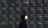 Shares are mostly lower in Asia on Tuesday after Wall Street suffered its worst session in two years.