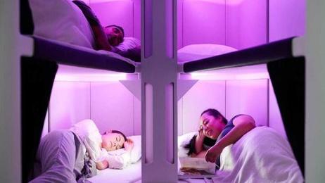 Kerry Reeves: Air NZ reveals economy class sleep pods