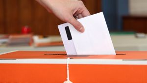 Sinead Gill says its not her job to convince students who to vote for. (Photo / NZ Herald)