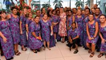 Barry Soper: Jacinda Ardern floors her fans in Fijian village