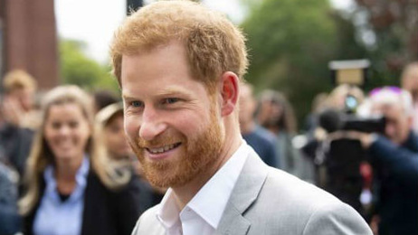 Prince Harry asks people to drop his royal title