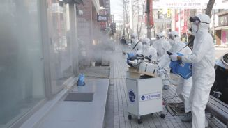 Coronavirus cases rise in China, South Korea as disease spreads further