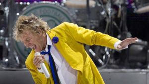 Rod Stewart has added a third New Zealand show especially for his fans in the South Island. Photo / NZ Herald.