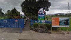 Rongomai School is warning students not to enter the school alone until the dog has been located. Photo / Google
