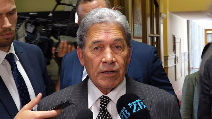Deputy Prime Minister Winston Peters has upped the ante in the trans-Tasman war of words. (Photo / NZ Herald)