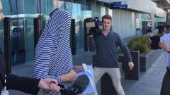 Sam Brittenden refused to comment as he left Christchurch District Court this morning. He will next appear in court on March 19.