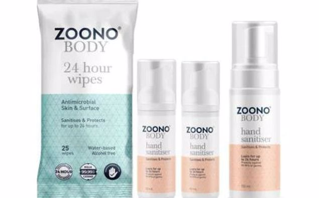 Sales of Zoono's sanitiser products have gone through the roof. Photo / Screenshot