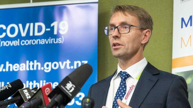 Director-General of Health Ashley Bloomfield. (Photo / NZ Herald)