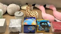 46kg of drugs smuggled inside stuffed toys seized