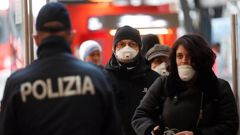 Italy plans to restrict movement throughout the entire country, locking down some 60 million people in an unprecedented move to contain the coronavirus. Photo / AP