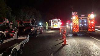 'Very confused, bleeding everywhere': Witness on horror crash