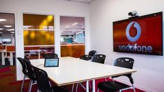 Vodafone's offices will be empty this week. Photo / File