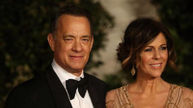 Tom Hanks and Rita Wilson, in their 60s, felt unwell in Australia and have tested positive for the virus. Photo / Getty Images