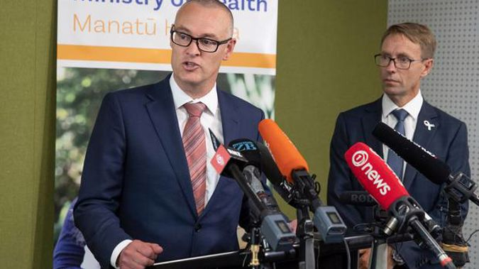 Health Minister David Clark. (Photo / NZ Herald)