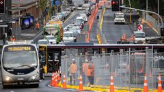 Roadworks and congestion is being created by the ideology. The cars aren't making it worse, the ideologues are.