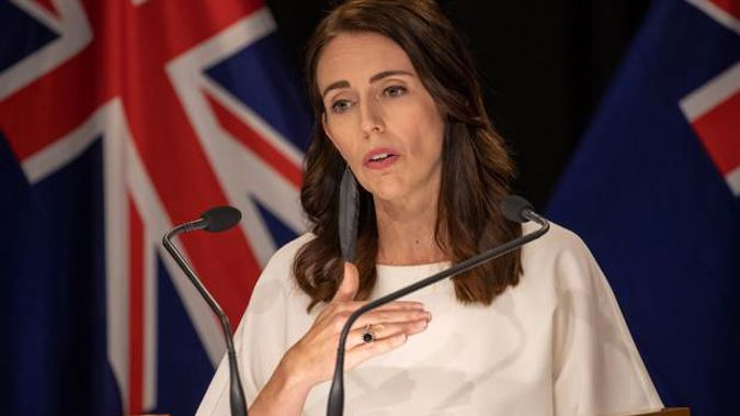 Prime Minister Jacinda Ardern made the announcement this afternoon. (Photo / NZ Herald)