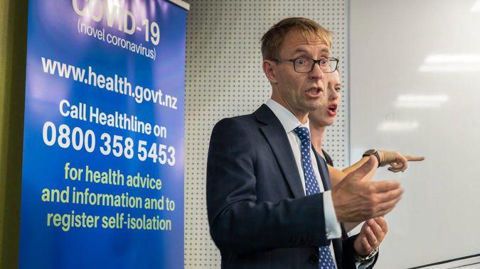 Director of Health Ashley Bloomfield. (Photo / NZ Herald)