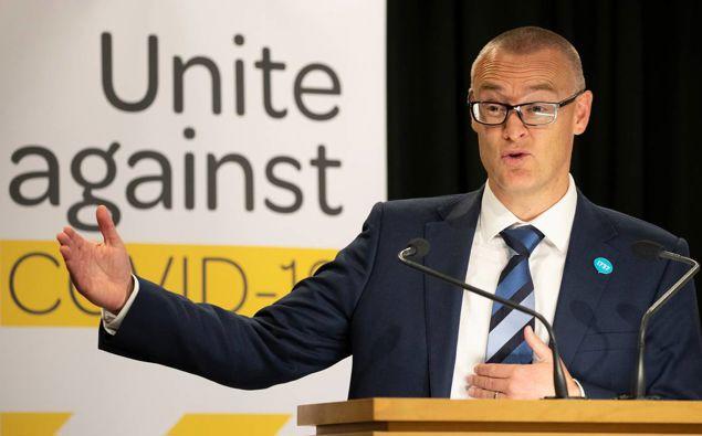 Health Minister David Clark.