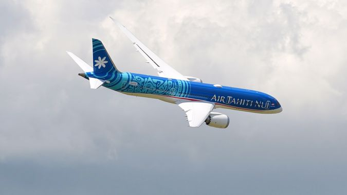 The Air Tahiti Nui flight was operated by a Boeing 787-9. (Photo / Getty)