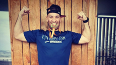 Man runs length of a marathon from his balcony during coronavirus lockdown